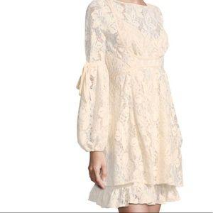 Free people rubi crochet lace dress size m new